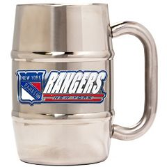 New York Rangers Stainless Steel Barrel Mug