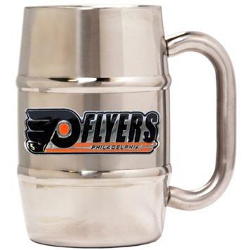 Philadelphia Flyers Stainless Steel Barrel Mug