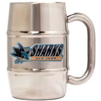 San Jose Sharks Stainless Steel Barrel Mug