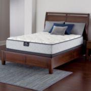 Serta Perfect Sleeper Langwood Plush Innerspring Mattress & Box Spring Set