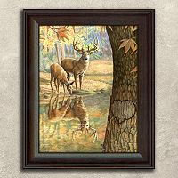 ''Deer To My Heart'' Framed Wall Art