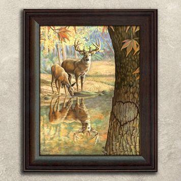 ''Deer To My Heart'' Framed Wall Art