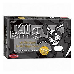 Playroom Entertainment Killer Bunnies and the Quest for the Magic Carrot Card Game Booster Deck by