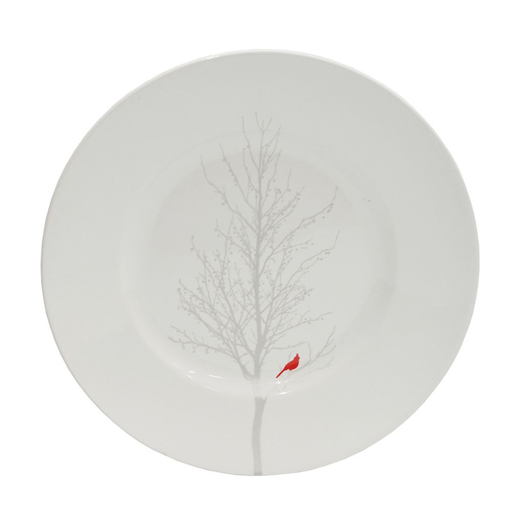 222 Fifth Winter Cardinal 16-pc. Dinnerware Set