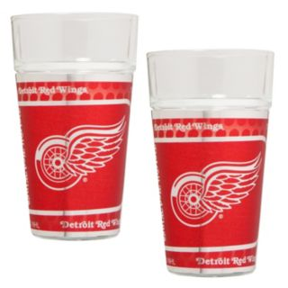 Detroit Red Wings 2-Piece Pint Glass Set