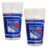 New York Rangers 2-Piece Pint Glass Set