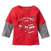 Jumping Beans® Graphic Skater Tee - Baby Boy