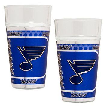St. Louis Blues 2-Piece Pint Glass Set