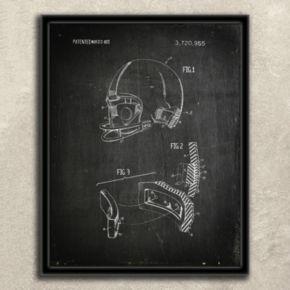 ''Football'' 2-piece Framed Wall Art Set