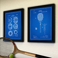 ''Tennis'' 2-piece Framed Wall Art