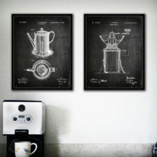 ''Coffee'' 2-piece Wall Art Set