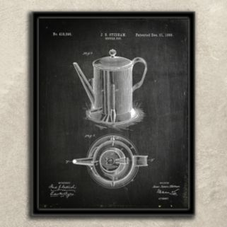 ''Coffee'' 2-piece Wall Art Set