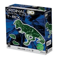 BePuzzled 49 pc T-Rex 3D Crystal Puzzle