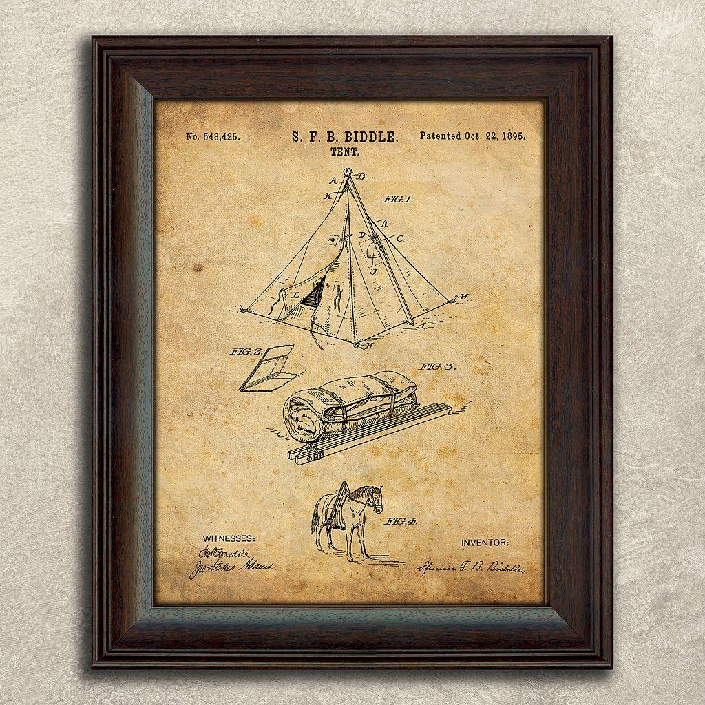 ''Camping'' 2-piece Framed Wall Art Set