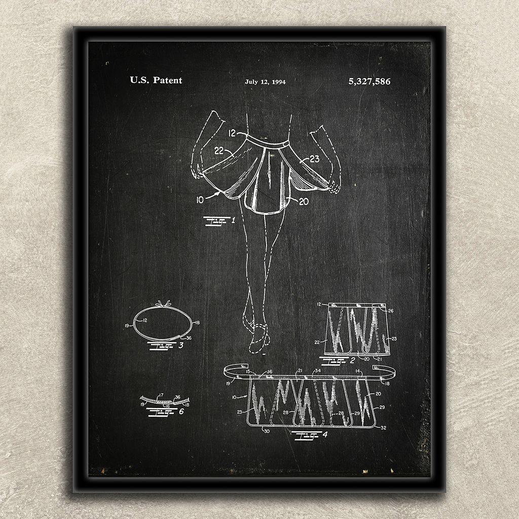 ''Ballerina, Dancer'' 2-piece Framed Wall Art Set