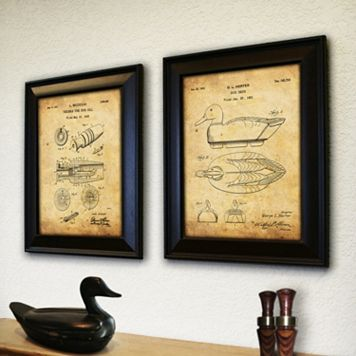 ''Duck Hunter'' 2-piece Wall Art Set