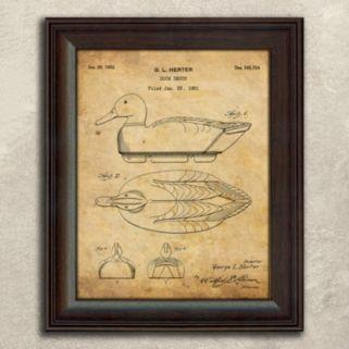 ''Duck Hunter'' 2-piece Wall Art Set
