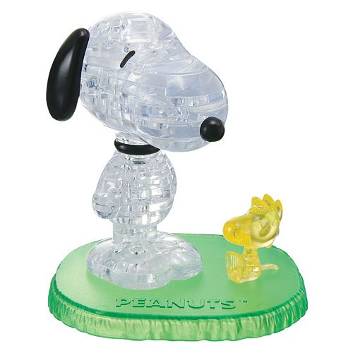 Peanuts 41-pc. Snoopy with Woodstock 3D Crystal Puzzle by BePuzzled