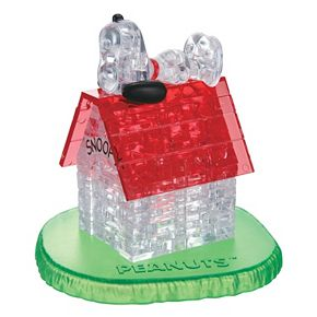 Peanuts 50-pc. Snoopy House 3D Crystal Puzzle by BePuzzled