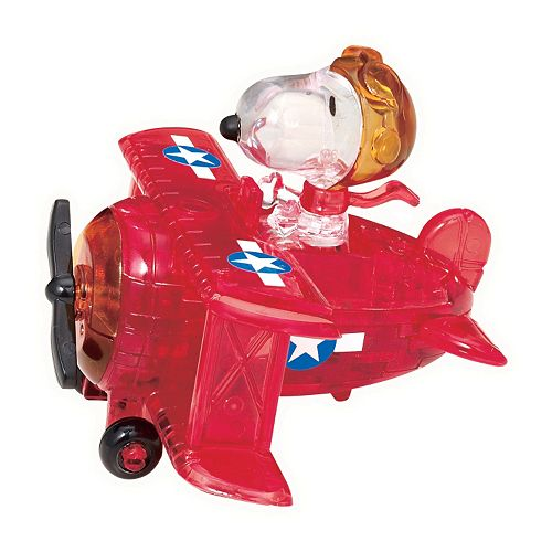 Peanuts 39-pc. Snoopy Flying Ace 3D Crystal Puzzle by BePuzzled
