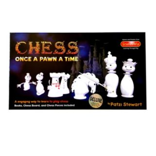 "Deluxe ""Once a Pawn a Time"" Chess Set by ScienceWiz Products"