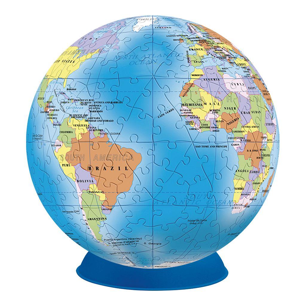 BePuzzled 240-pc. Globe Lifestyle 3D Puzzle Sphere