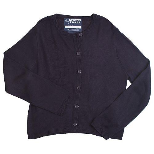 Girls 4-6x French Toast School Uniform Cardigan