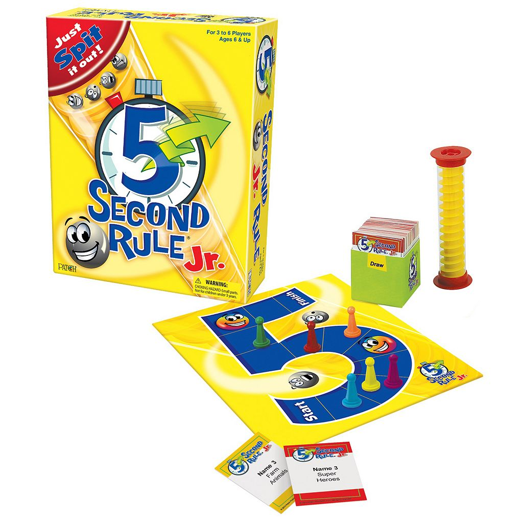 5 Second Rule Jr. Game by Patch