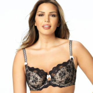 Paramour by Felina Bra: Captivate Sheer Lace Full-Figure Bra 115005