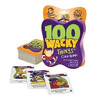 100 Wacky Things Card Game by Patch