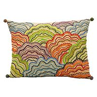 Mina Victory Fantasia Beaded Throw Pillow
