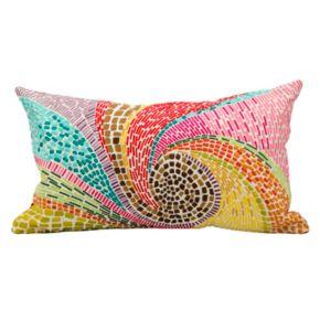 Mina Victory Fantasia Mosaic Throw Pillow