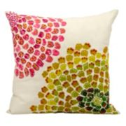 Mina Victory Fantasia Floral Throw Pillow