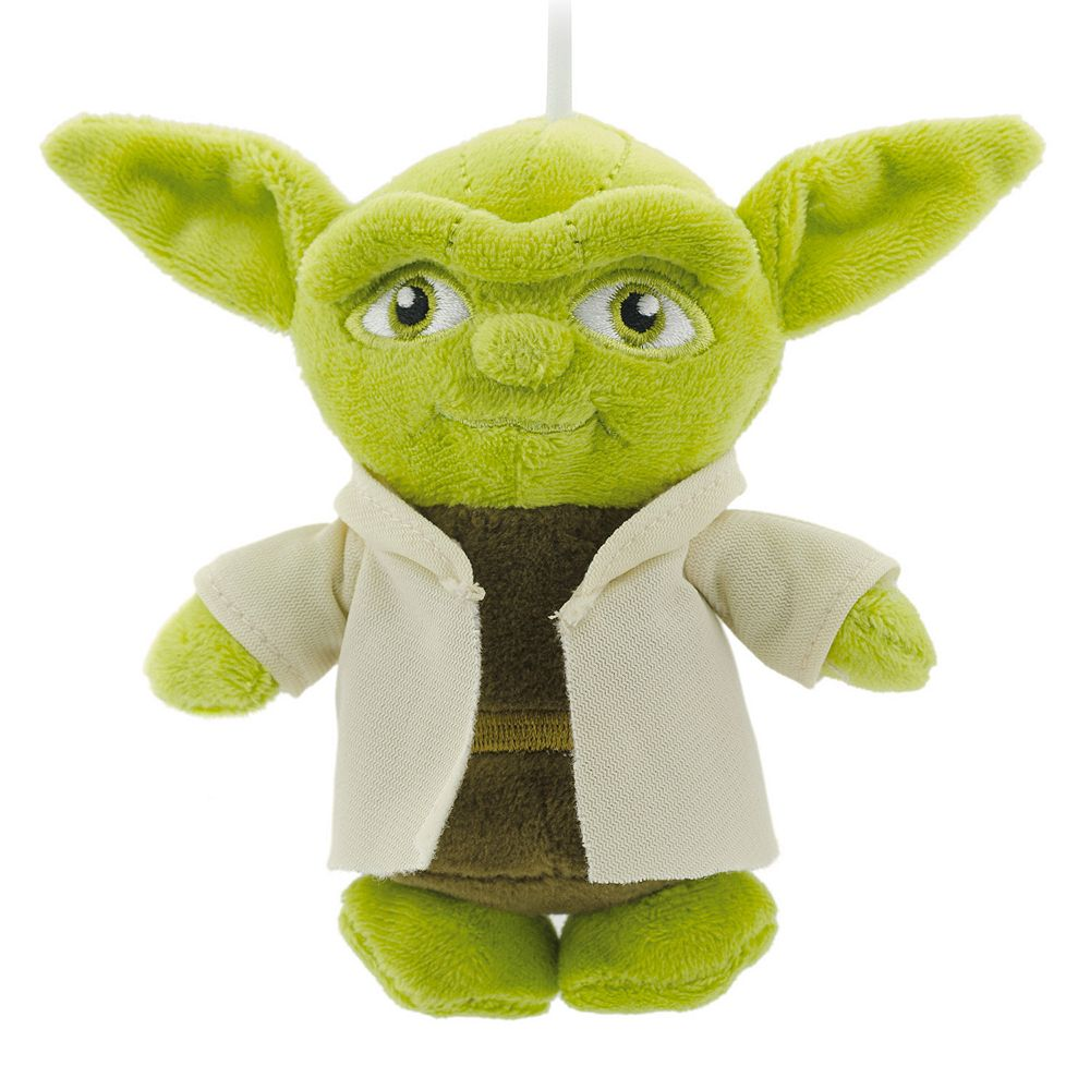 star wars yoda plush christmas ornament by hallmark clearance - Home Decor Clearance
