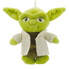 Home Decor Clearance parker desk Star Wars Yoda Plush Christmas Ornament By Hallmark Clearance