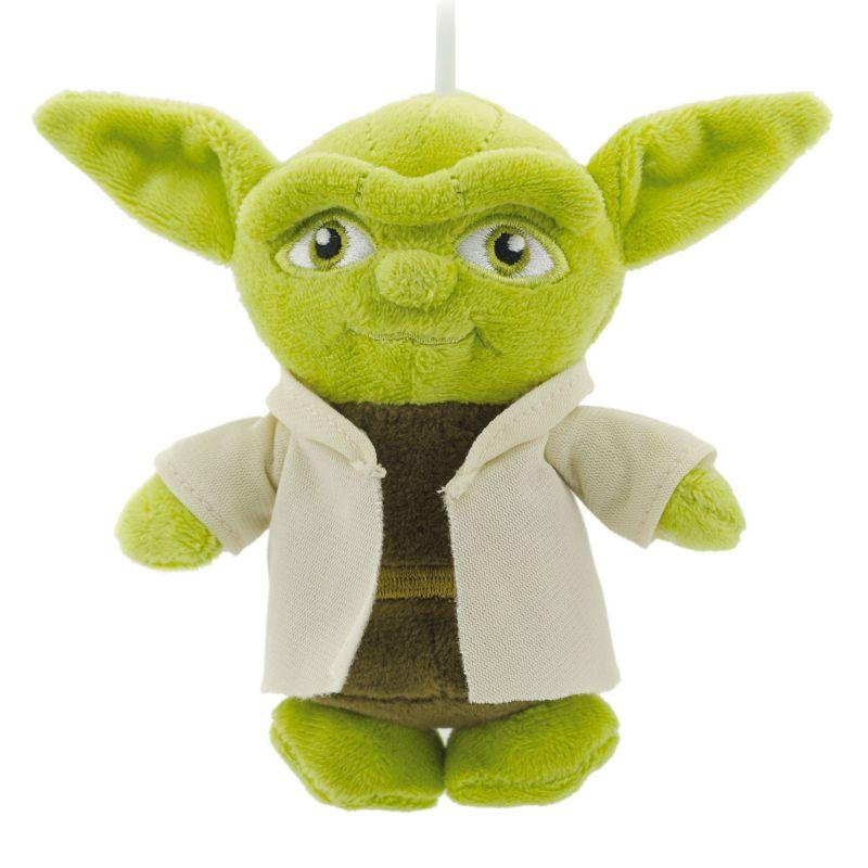 Star Wars Yoda Plush Christmas Ornament by Hallmark, Multi/None
