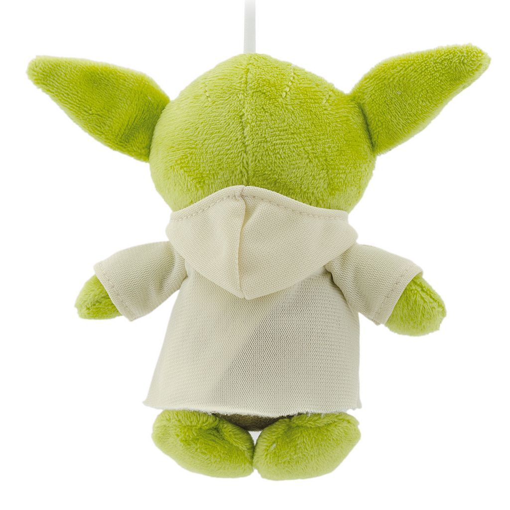 Star Wars Yoda Plush Christmas Ornament by Hallmark