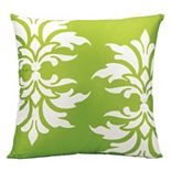 Mina Victory Damask Outdoor Throw Pillow