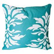 Mina Victory Damask Outdoor Throw Pillow