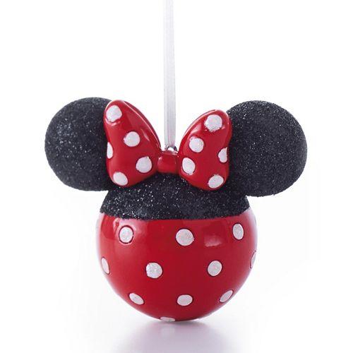 Christmas Minnie Mouse Head.Disney S Minnie Mouse Head Christmas Ornament By Hallmark