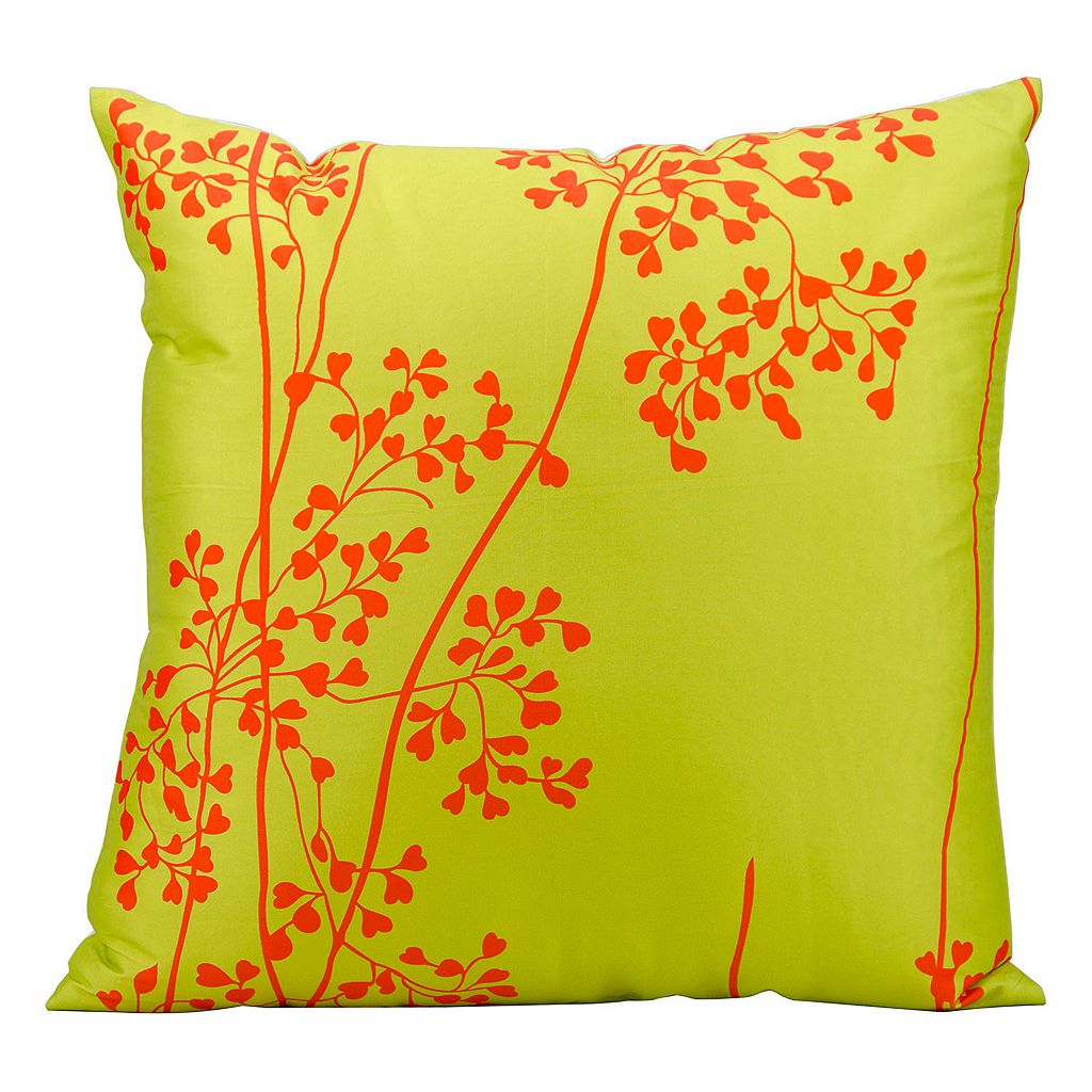 Mina Victory Branch Outdoor Throw Pillow