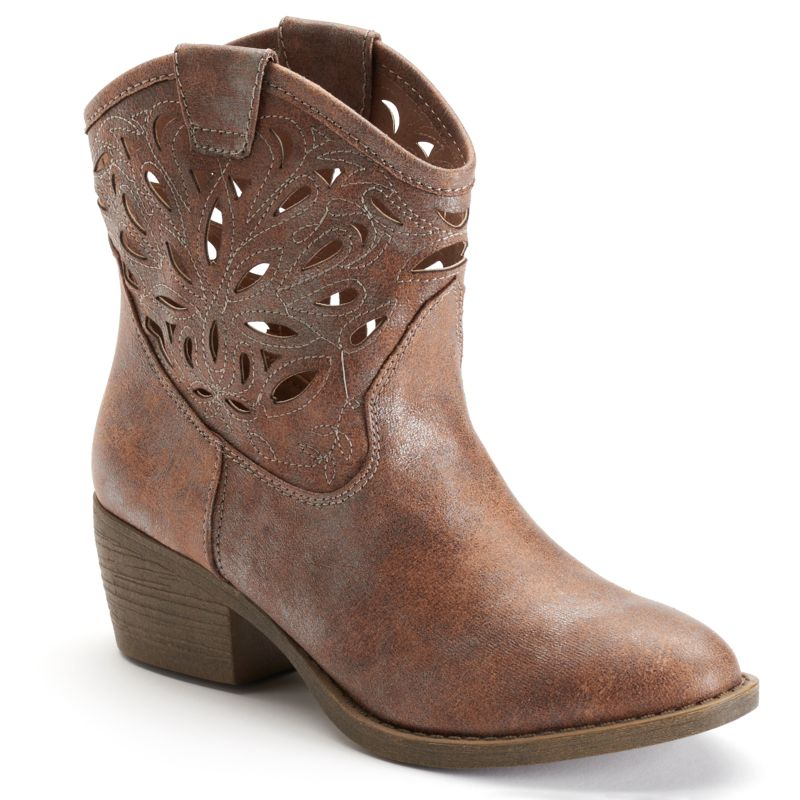 toe womens ankle boots kohl s