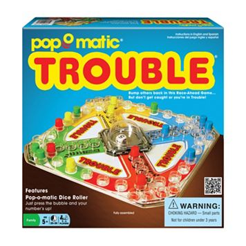 Classic Trouble Game by Winning Moves