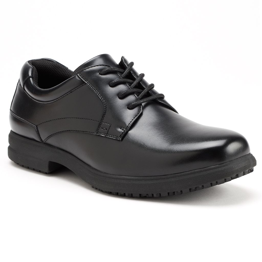 Nunn Bush Sherman Men's Oxford Slip-Resistant Shoes