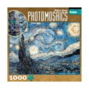 Buffalo Games 1000-pc. Starry Night Photomosaics Jigsaw Puzzle