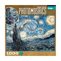Buffalo Games 1000 pc Starry Night Photomosaics Jigsaw Puzzle