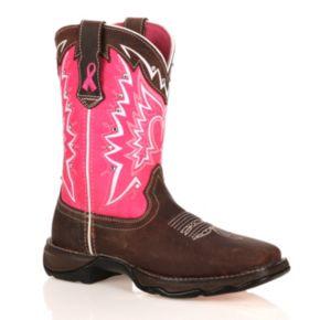Durango Pink Ribbon Lady Rebel Women's Cowboy Boots