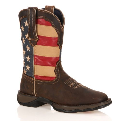 Elegant Find This Pin And More On S H O E S  This Lady Rebel By Durango Western Will Be The Most Attentiongrabbing Item In Your Closet You Can Never Go Wrong With American Flag Cowboy Boots Thanks For Sharing! Make Them Green With
