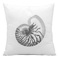 Mina Victory Seashell Outdoor Throw Pillow