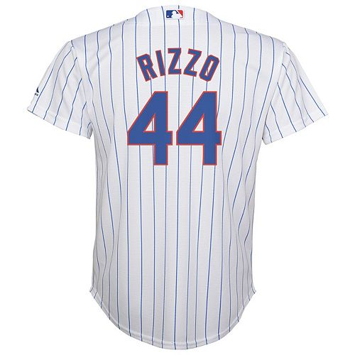 Boys 8-20 Majestic Chicago Cubs Anthony Rizzo Replica Jersey 38779a3ca093